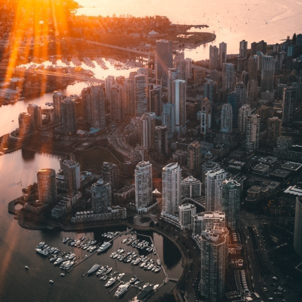 Vancouver Aerial Photo